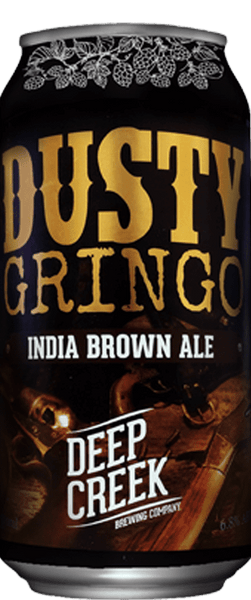 Deep Creek Dusty Gringo India Brown Ale 440ml Can