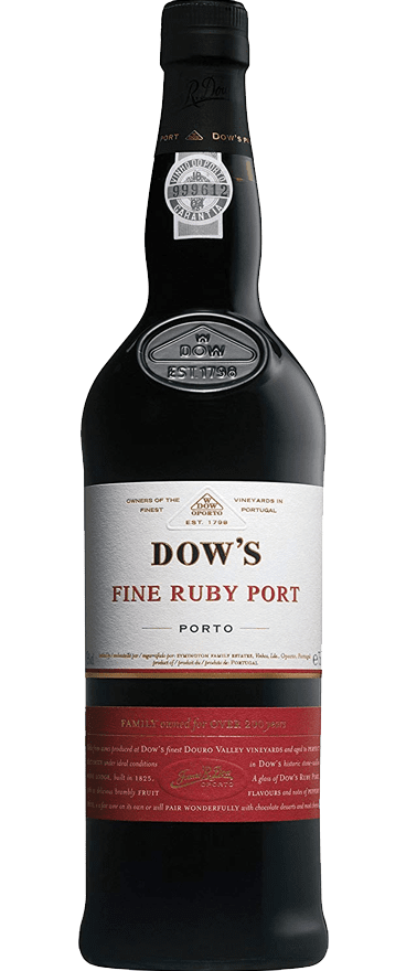 Dow's Fine Ruby Port NV - Wine Central