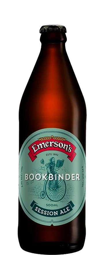 Emersons Bookbinder Session Ale 500ml Bottle