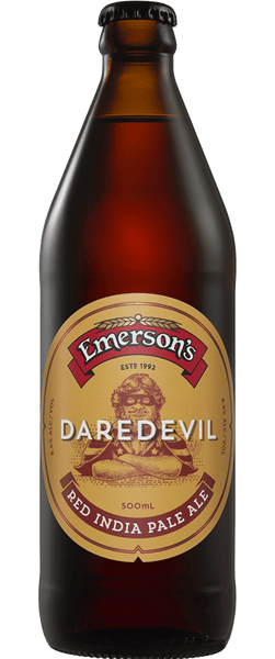 Emersons Daredevil Red IPA 500ml Bottle