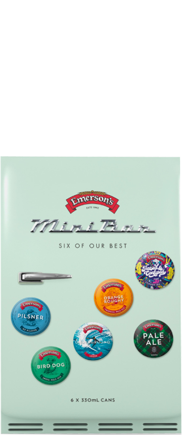 Emerson's Explorer Release Minibar Six (6x 330ml Cans) - Wine Central