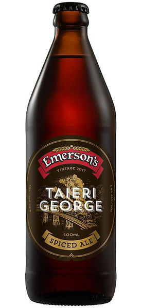 Emersons Taieri George Spiced Ale Vintage 2018 500ml Bottle