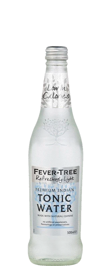 Fever Tree Premium Naturally Light Tonic Water 500ml Bottle - Wine Central