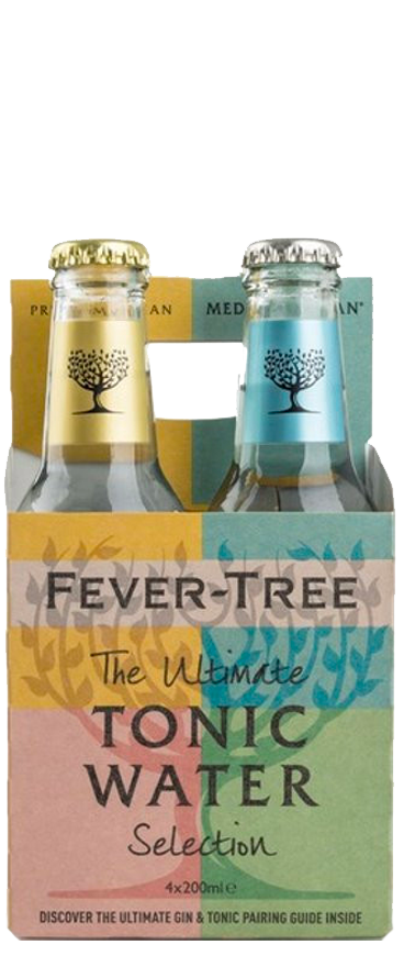 Fever Tree Variety Tonic 4x 200ml Pack