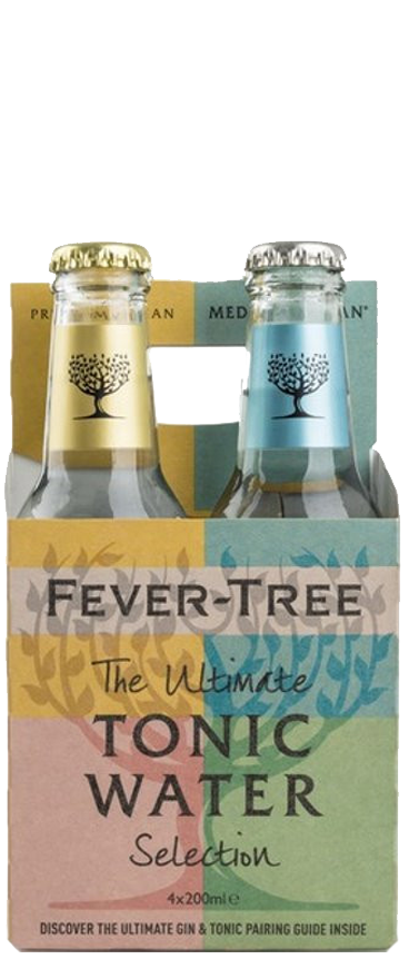 Fever Tree Variety Tonic Pack (4x 200ml Bottles)