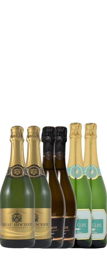 French Fizz 6 Bottle Case