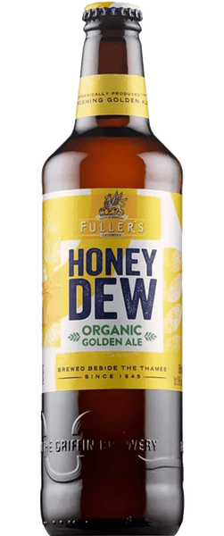 12 Bottles of Fuller's Organic Honey Dew (12x 500ml Bottles) BB:01.03.19