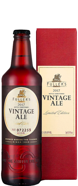 Fullers Vintage Ale 2017 Gift Box