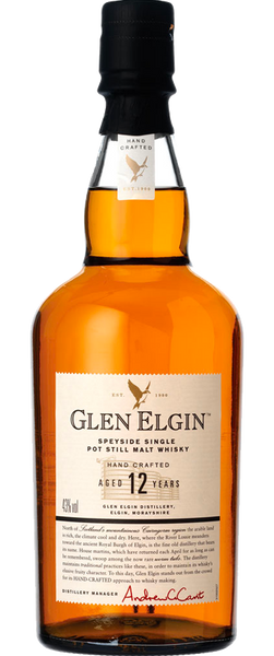 Glen Elgin 12 Year Old Scotch Whisky 700ml