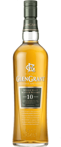 Glen Grant Rothes Speyside Aged 10 Years Single Malt 700ml - Wine Central