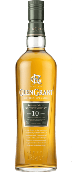 Glen Grant Rothes Speyside Aged 10 Years Single Malt (700ml)