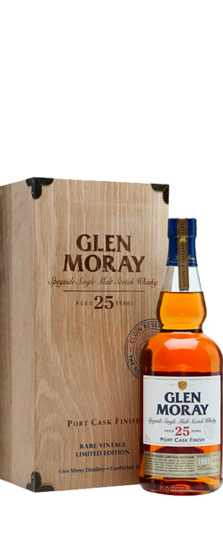 Glen Moray 25 Year Old Single Malt Scotch Whisky 700ml
