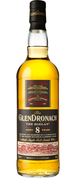 "Glendronach ""The Hielan"" 8 Year Old 700ml"