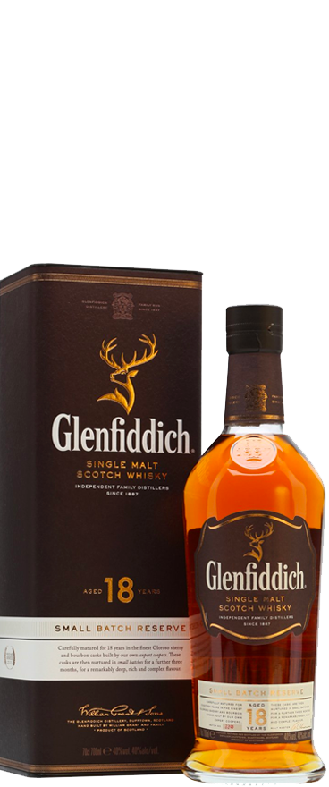 Glenfiddich 18 Year Old Whisky 700ml