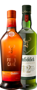 Glenfiddich Fire & Cane & 12 Year Old Duo - Wine Central