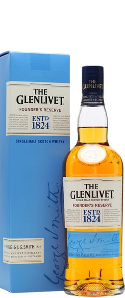 The Glenlivet Founders Reserve Single Malt Whisky 700ml