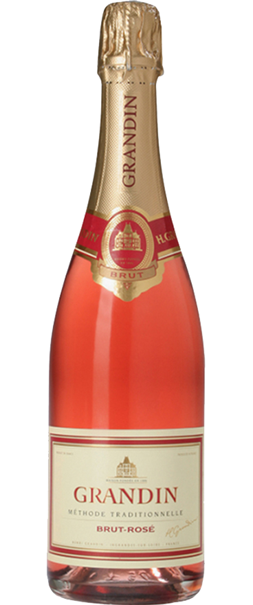 Grandin Méthode Traditionnelle Rosé NV (6 Bottle Case)