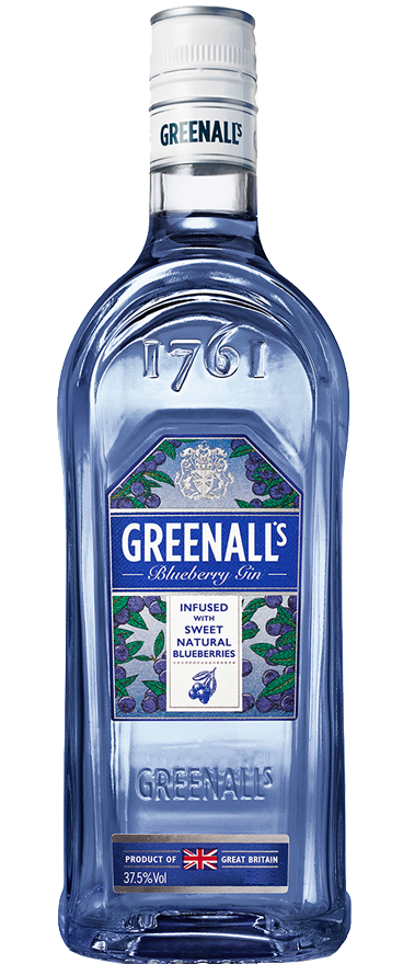 Greenall's London Blueberry Gin 1L