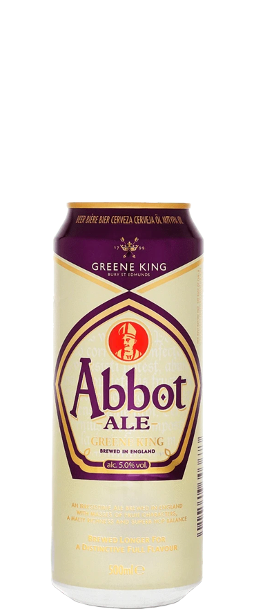 Greene King Abbot Ale 500ml Can