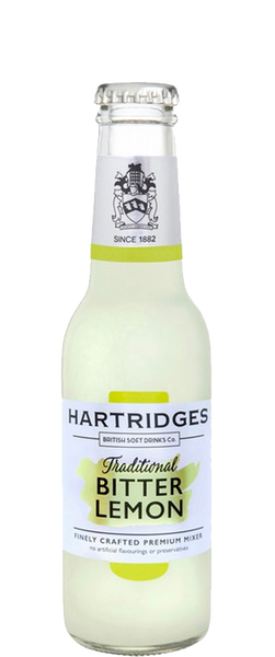 Hartridges Premium Bitter Lemon 24x 200ml Bottles
