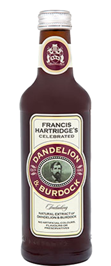 Hartridges Dandelion & Burdock 12x 330ml Bottles