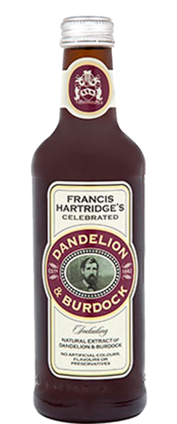 Hartridges Dandelion & Burdock 330ml Bottle