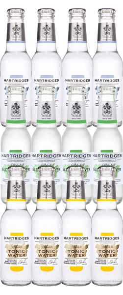 Hartridges Tonic Taster Pack 12x 200ml Bottles