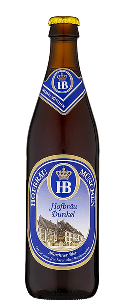 Hofbrau Dunkel German Dark Lager 500ML Bottle