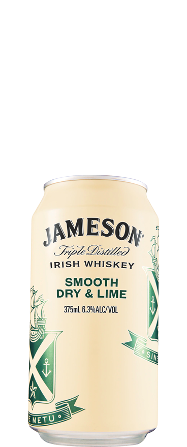 Jameson Dry and Lime (10x 375ml Cans) - Wine Central