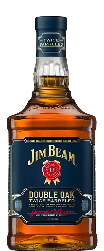 Jim Beam 'Double Oak' Bourbon 1L