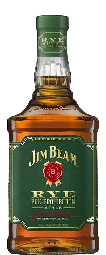 Jim Beam Rye Pre-Prohibition Style Bourbon Whisky 1L