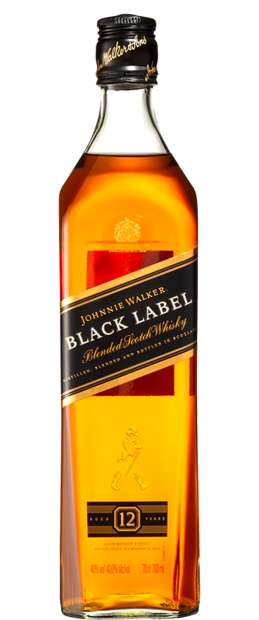 Johnnie Walker Black Label Whiskey 700ml