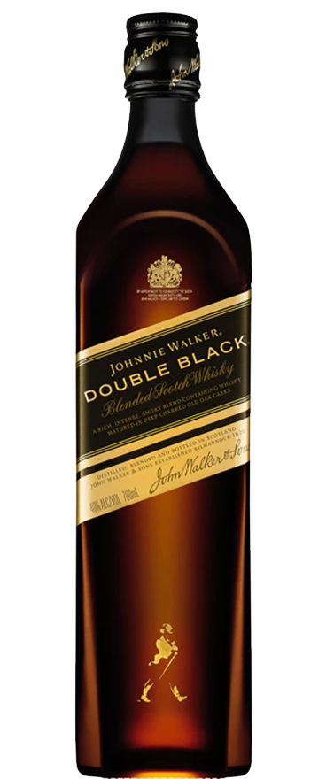 Johnnie Walker Double Black Label Whiskey 700ml - Wine Central