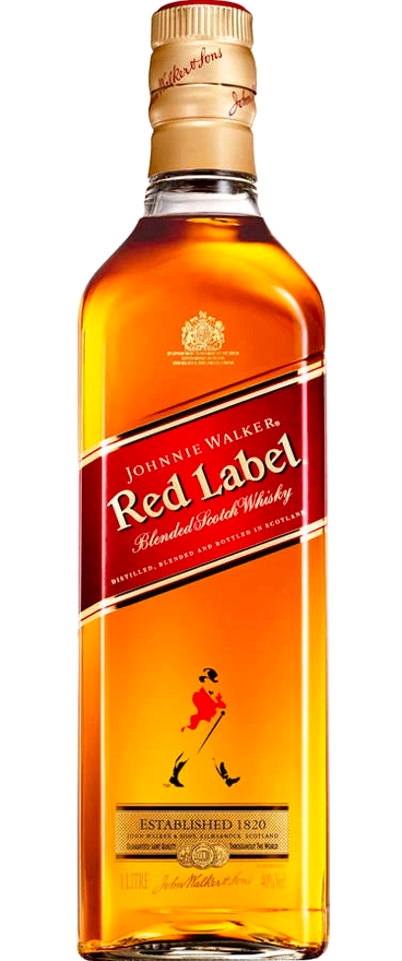 Johnnie Walker Red Label Blended Whisky 1L