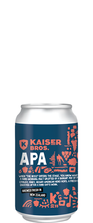 Kaiser Brothers Brewery American Pale Ale (6x 330ml Cans)