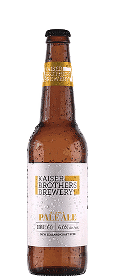 Kaiser Brothers Brewery Blonde Pale Ale 500ml Bottle