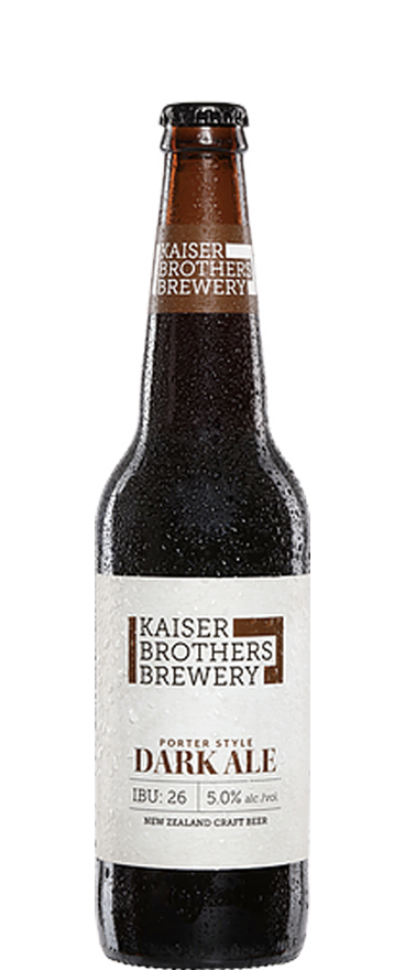Kaiser Brothers Brewery Porter Dark Style Ale 500ml Bottle