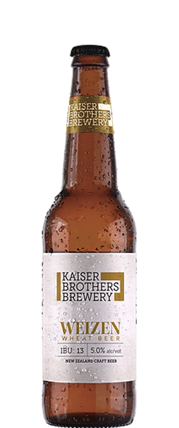 Kaiser Brothers Brewery Weizen Wheat 500ml Bottle