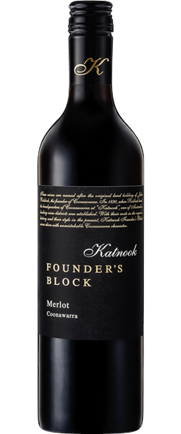 Katnook Estate Founder's Block Merlot 2017