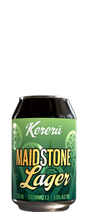 Kereru Brewing Maidstone Lager 330ml Can - Wine Central