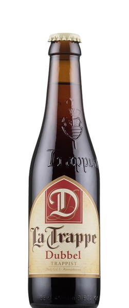 4 Bottles of La Trappe Dubbel (4x 330ml Bottles)