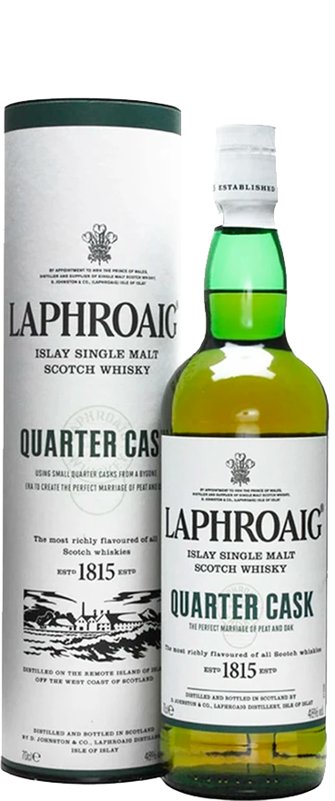Laphroaig Quarter Cask Whisky 700ml - Wine Central