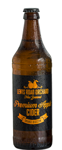 6 Bottles of Lewis Road Orange Blossom Cider (6x 518ml Bottles) BB:19.01.19