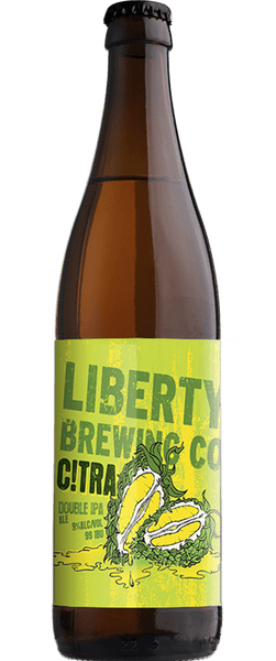 Liberty C!tra Double IPA 500ml Bottle