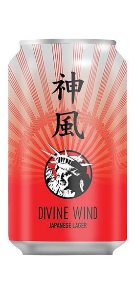 Liberty Brewing Co. Divine Wind Japanese Lager 330ml Can