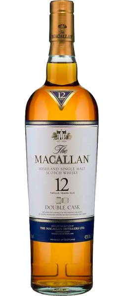 The Macallan Highland Single Malt 12 Year Old Double Cask 700ml