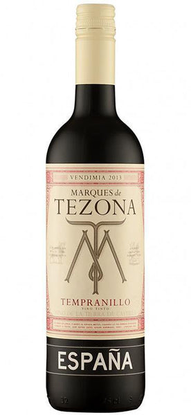 Marques de Tezona Tempranillo La Mancha 2014 , Wine - Marques de Tezona, Wine Central