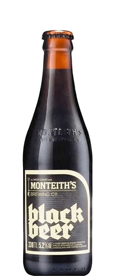 Monteith's Black (6x 330ml Bottles)