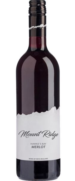Mount Ridge Hawke's Bay Merlot 2018