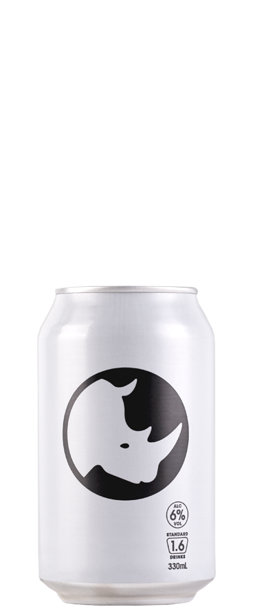 Part Time Rangers White Rhino Gin, Lemon and Sparkling Water (10x 330ml Cans)